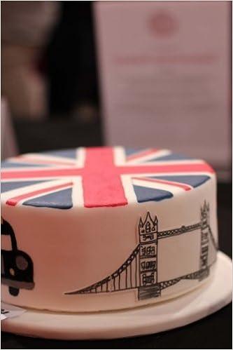 Buy Uk London Bridge Birthday Cake Journal Take Notes Write Down