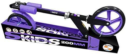 Stamp M/ädchen JB200002 Foldable Adjustable Scooter 200 LILA with Kickstand