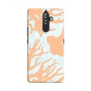 Cover It Up - Pale blue Nature Print K8 Plus Hard case