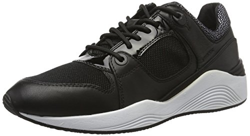 Geox Svart blackc9999 D lav joggesko Omaya En F rTrwYqf0