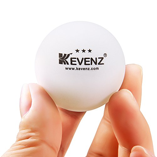 KEVENZ 50-Pack 3-Star 40mm Orange Table Tennis Balls,Advanced Ping Pong Ball by KEVENZ (Image #6)