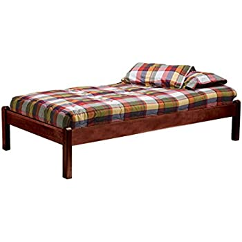 Amazon Com Bolton Furniture Platform Bed Twin Cherry
