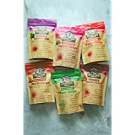 Sisters Fruit Company, VARIETY PACK, Apple & Pear Chips, All Natural, No Preservatives, Fat-Free (SIX 2.25 OZ BAGS)