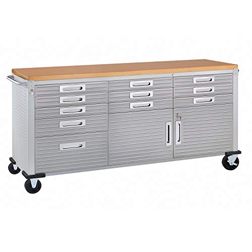 Seville Classics Ultrahd Rolling Workbench (Granite) ()