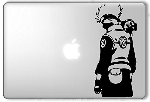 Hatake Kakashi and Pakkun Naruto - Apple Macbook Laptop Viny