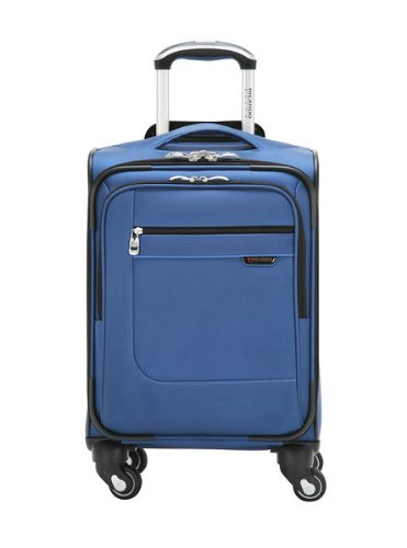 Ricardo Beverly Hills Luggage Sausalito Superlight 2.0 17-Inch 4W Universal Carry-On, Rhythm/Blue, Small -