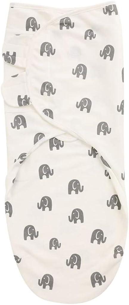 DPSKY Swaddle Blanket Adjustable Infant Baby Wrap Organic Cotton Swaddling Sacks for Newborn Boys Girls