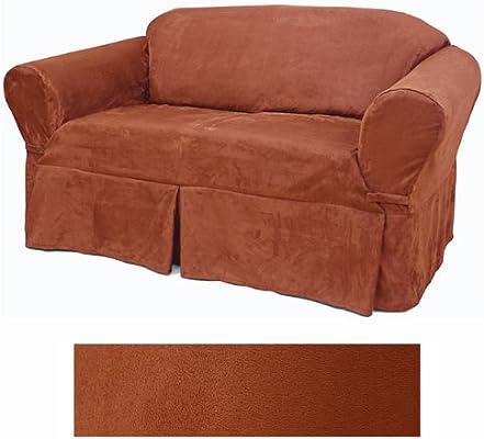 Amazon.com: Suede Rust Muebles Slipcover silla 616: Home ...