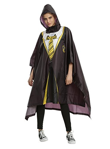 Harry Potter House Of Hufflepuff Licensed Robe Rain Poncho One Size Fits Most 14 (Hufflepuff Robes)
