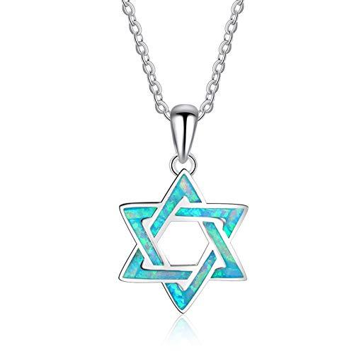 ANAZOZ 925 Sterling Silver Necklace for Women Star Australia