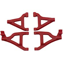 RPM Front A-Arms for The 1/16th Scale Traxxas Slash 4x4, Red