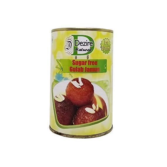 Dezire LG Natural Sugar Free Gulab Jamun, 500 g