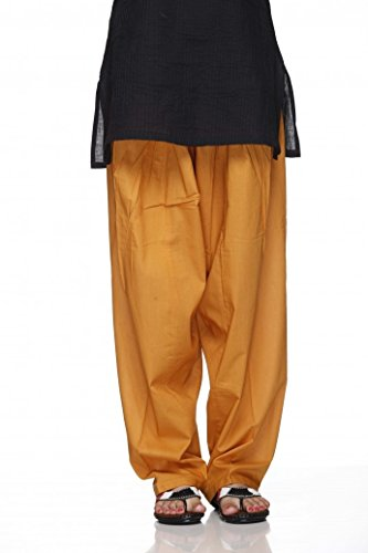 (Cotton Plain Indian Salwar Pants in Several Colour - Kameez Yoga)