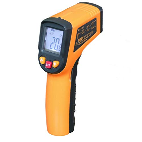 Infrared Thermometers,Howentchi Industrial and Scientific Non-Contact Digital Laser Backlight Infrared Thermometer Temperature Gun -58℉~752℉ (-50℃~400℃)