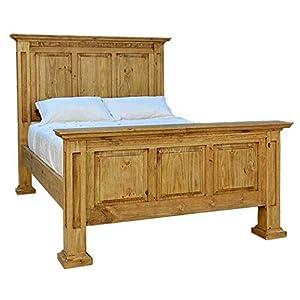 Santa Rita Mansion Rustic Bed Frame Queen Size