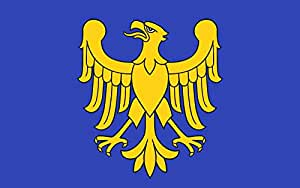 magFlags Large Flag Formal Flag of The Silesian Voivodeship | Landscape Flag | 1.35m² | 14.5sqft | 90x150cm | 3x5ft - 100% Made in Germany - Long Lasting Outdoor Flag