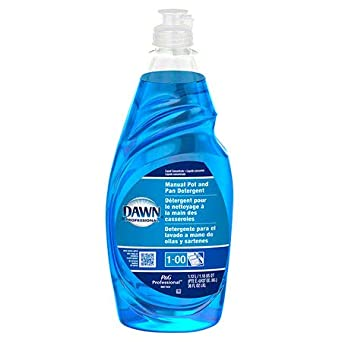 Amazon.com: Dawn Professional Bulk Pot, Pan, and Dish Liquid Dishwashing Soap Detergent Degreaser for Commercial Restaurant, Regular Scent, 38 oz.