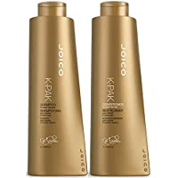 Joico K-PAK Daily Shampoo & Conditioner Set to Repair Damage, 33.8-Ounce