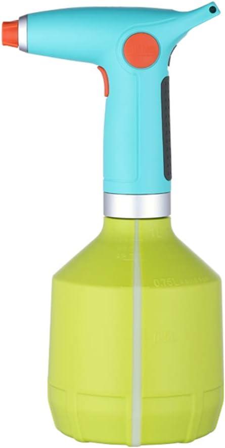 Botella De Spray Mister De Planta Eléctrica para Plantas De Interior/Exterior, Regadera Eléctrica con Boquilla De Cobre Ajustable, Dispositivos De Riego Automático De Plantas