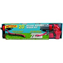 Valterra D04-0115 EZ Coupler 20' Deluxe Bayonet Sewer Hose Kit