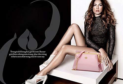 clutches y y Shoppers de hombro Rosa Bolsos Carteras DEERWORD bandolera mano de Mujer bolsos TE77w