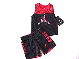 Nike Air Jordan Toddler Tank-Top & Short, Size 2T