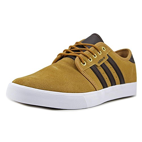 nuove adidas uomini seeley stringhe pu brown comprare online in oman