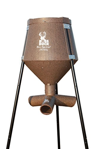 Boss Buck 200 lbs Gravity Protein Deer Feeder