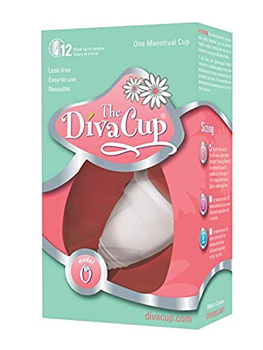 DivaCup Model 0 Menstrual Cup Best Natural Period Products