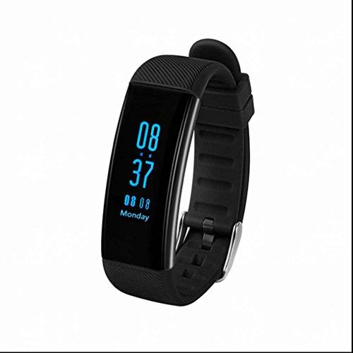 Smart Armband unterstützungs Bluetooth Bracelet Podomètre sommeil Système de surveillance Multi Sport Mode écran OLED sesshaft rappeler avec système iOS Android