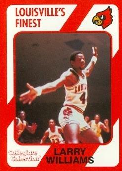 sports shoes f2f38 50e1a Amazon.com: Larry Williams Basketball Card (Louisville) 1989 ...
