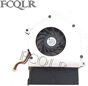 FCQLR Ordenador portátil Ventilador Compatible para Toshiba Satellite M115-S3094 CPU Ventilador: Amazon.es: Electrónica