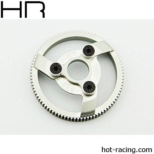 Racing Spur Gear (HOT-RACING TE890H Hard Anodized 90T 48P Aluminum Spur Gear)