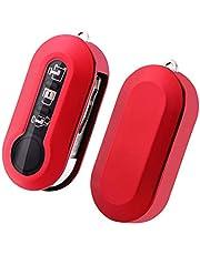 SKTU FIAT 500 /FIAT 500L toetsen autosleutel - TPU sleutelhoes cover