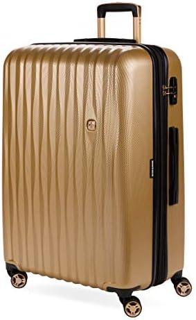 "SWISSGEAR 7272 28"" Energie Hardside Polycarbonate Spinner Luggage – Gold"