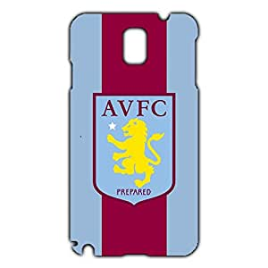 Custom Design FC AVFC Aston Villa FC Phone Case Cover For Samsung Galaxy Note 3 3D Plastic Phone Case