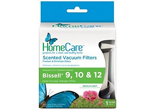 Bissell 9,10,12 Upright Vacuum Scented Filters by Home Care, (2-Pack) (Bissell Vacuum Powerclean compare prices)