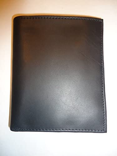 New Stafford Mens Leather Credit Card Folio Wallet