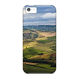 DrunkLove Case Cover Skin For Iphone 5c (aerial View Of The Fields Around Abruzzo)