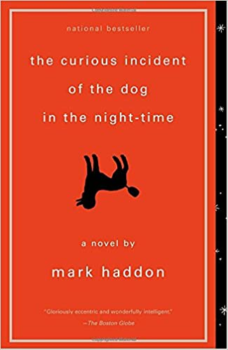 The Curious Incident of the Dog in the Night Time book cover