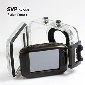 SVP 720P HD Mini Action Helmet Camera Waterproof Sport Car DV Bike Camcorder