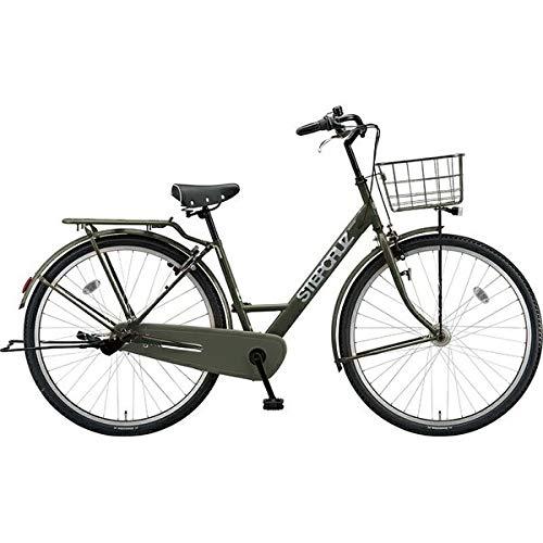 ブリヂストン シティサイクル自転車 ステップクルーズ SC73T T.Xマットカーキ T.Xマットカーキ   B07J2X1CX7
