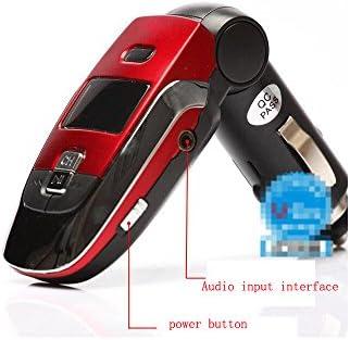 Boomboost MP3プレーヤーワイヤレスFMトランスミッターモジュレーターカーキットUSB SD MMC LCDリモートSDカード7 EQ SCVビデオファイルリモートコントロール2018