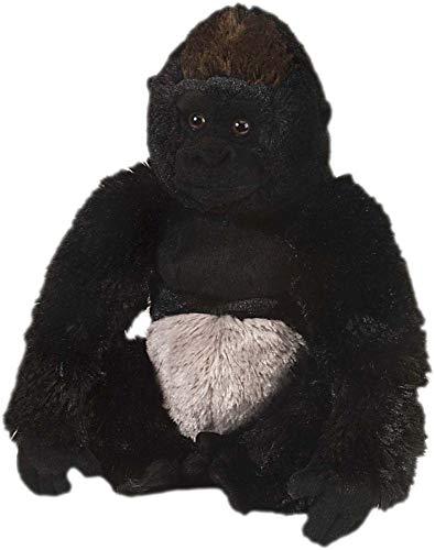 Gorilla Stuffed Animal (Wild Republic Silverback Gorilla Plush, Stuffed Animal, Plush Toy, Gifts for Kids, Cuddlekins 12)