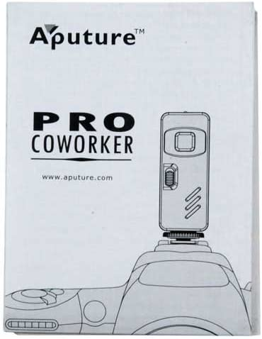 Aputure Coworker Wireless Remote Shutter Release for Olympus Cameras - 3L Connection Such as: PEN F, OM-D Replaces Olympuss RM-UC1