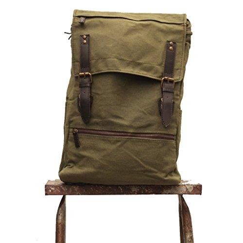 0b0637fddf45 Galleon - Handmade Waxed Canvas Backpack