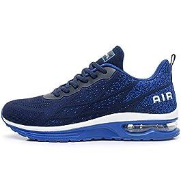 GANNOU Men's Air Athletic Running Shoes Fashion Sport Gym Jogging Tennis Fitness Sneaker