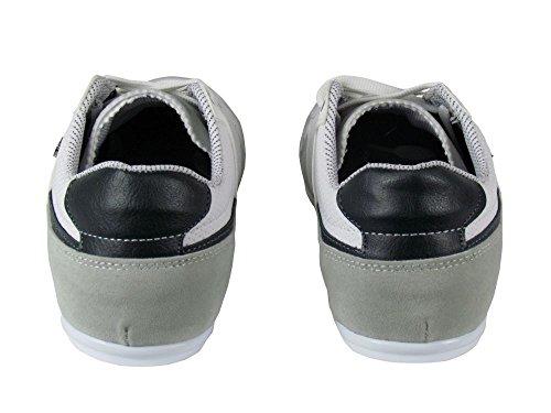 Sneaker - weiß / grau