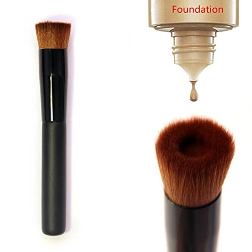FORUU Make up Brushes, 2019 Valentine's Day Surprise Best Gift For Girlfriend Lover Wife Party Under 5 Free delivery Flat Perfecting Face Brush Premium Foundation Makeup Brush