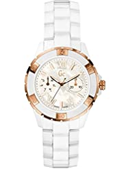 Guess Collection GC X69003L1S White Ceramic Womens Analog Swiss Watch